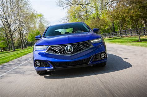 five details that make the 2018 acura tlx a spec automobile magazine