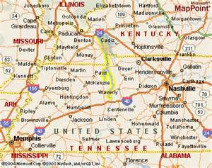 Kentucky Lake Maps Tennessee
