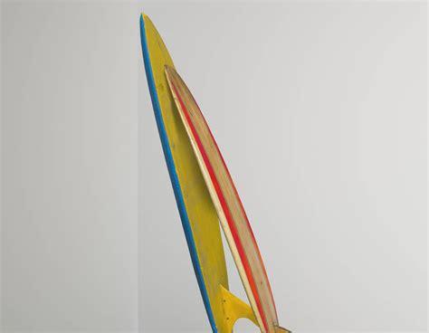 double surfboard corner wall sticker contemporary wall