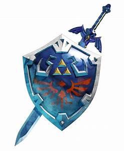 Hylian Shield Master Sword Epic Game Pinterest