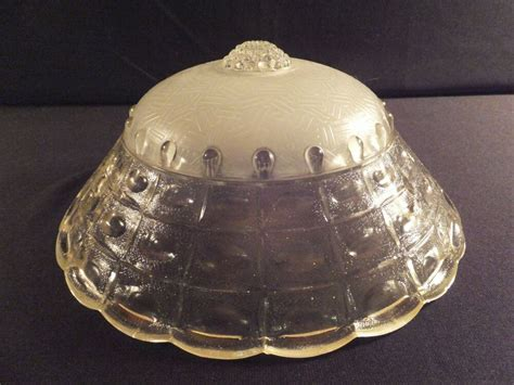 Glass Light Covers by Deco Chain Mount Glass L Shade Ceiling Light Cover