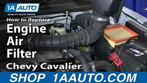 How To Replace Engine Air Filter 95