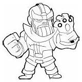 Infinity Gauntlet Coloring Pages War Thanos Printable Sketch Marvel Tagged Posted sketch template