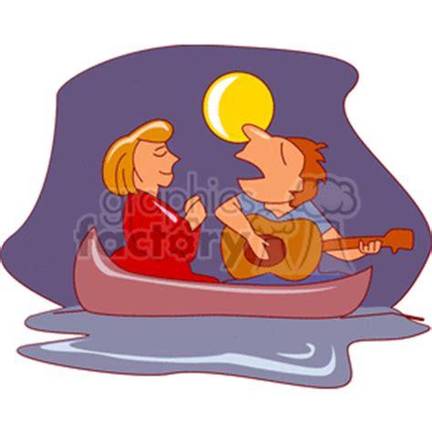 romantic couple man singing   woman  playing