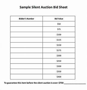 auction bid cards template - silent auction bidding sheet template search results