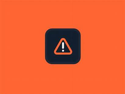 Warning Heat Animation Cpu Alert Animated Icon