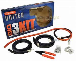1  0 Gauge Awg Big 3 Kit Cable Upgrade Wiring Cadence
