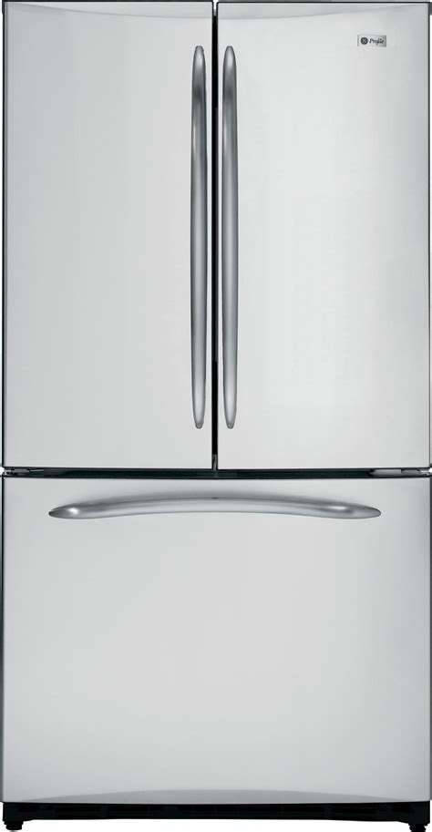 ge profile door refrigerator ge profile pfcs1nfcss 20 7 cu ft counter depth