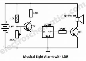 light alarm circuit with ldr With usb lamp circuit