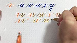 learn brush lettering learn how to draw letters part 4 With learn brush lettering