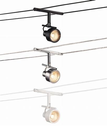 12v Spot Saluna Wire Cable Chrome Tenseo