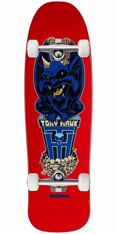 Skateboard Birdhouse Complete Hawk Gargoyle Skateboards