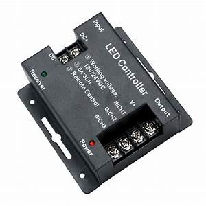 Rf Wireless Touching Led Remote Controller Instructions
