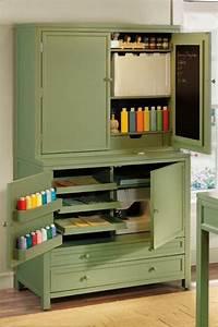 Martha Stewart craft space cabinets