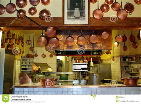 cuisine antique antique kitchen stock image image of pans crockery