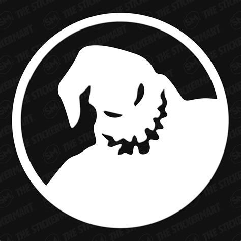 5 out of 5 stars. Oogie Boogie Man Vinyl Decal   Nightmare before christmas ...