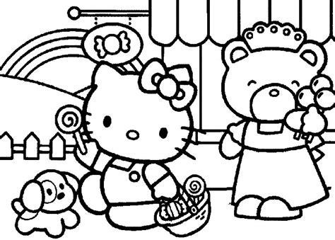 coloring pages  kitty princess princess