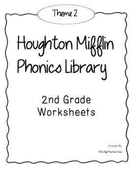 houghton mifflin phonics library 2nd grade theme 2