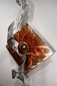 wilmos kovacs modern abstract unique metal sculpture With unique wall art