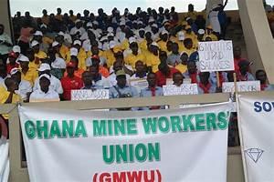 Biggest Ghana mine union plans strikes over gold fields ...
