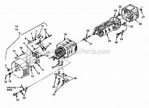 Homelite  Lr5500  C A R B  Generator