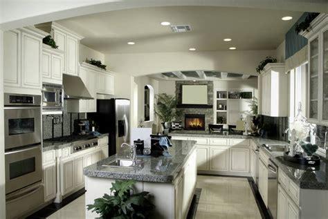 luxury  shaped kitchen designs layouts