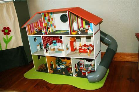 fabriquer un bureau informatique déco maison playmobil