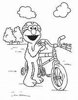 Elmo Coloring Pages Barney Node sketch template