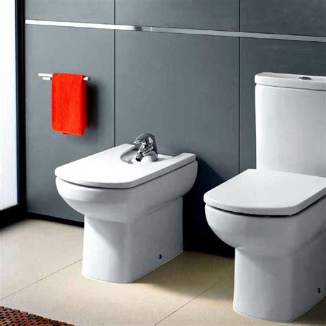 Roca Bidet Toilet - roca senso compact back to wall floorstanding bidet uk