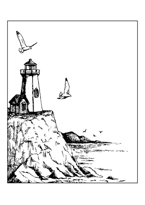 coloriage phare img
