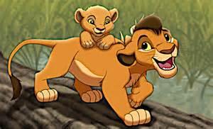 Lion King Kopa and Kiara
