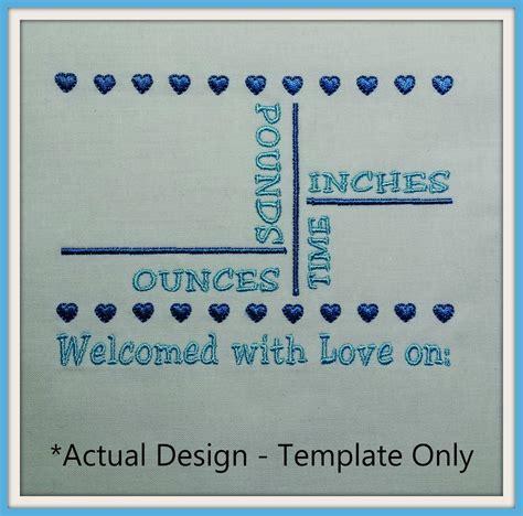 kitchen design templates 5x7 birth announcement template a stitch in