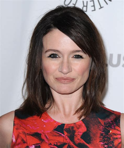 emily mortimer medium straight casual hairstyle