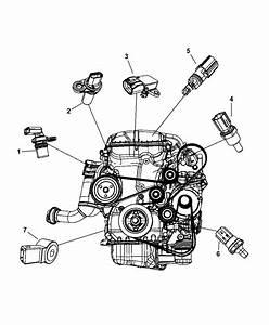 2008 Dodge Avenger Sensors - Engine