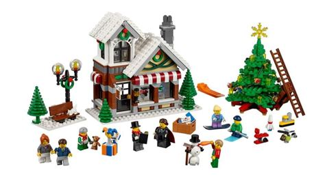 The 2015 Lego Winter Village Toy Shop Is Here And It's
