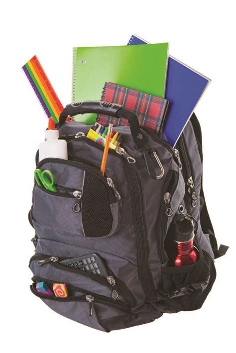 overflowing backpack google search school department