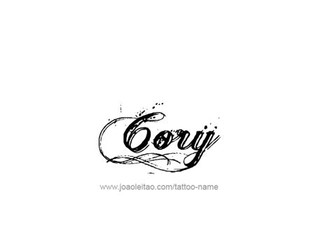 cory  tattoo designs