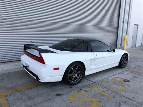 1993 acura nsx grand prix white on black for sale in