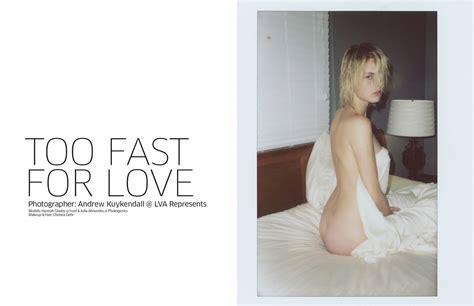 Hannah Glasby Julia Almendra Topless Photos Thefappening