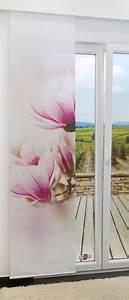 Schiebegardinen Mit Motiv : schiebegardine magnolie 0a ~ Frokenaadalensverden.com Haus und Dekorationen