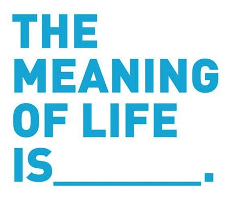 The Meaning Of Life  A Must Read