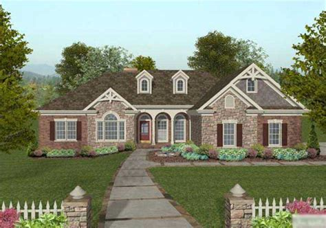 Craftsman Home with 4 Bedrms, 2000 Sq Ft   Floor Plan #109