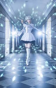 Cosplay Of The Day Weiss Schnee RWBY Source Httpbit