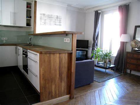 cuisine de studio charmant amenager petit salon avec cuisine ouverte 9