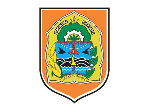 logo kabupaten gunung kidul format cdr png hd gudril