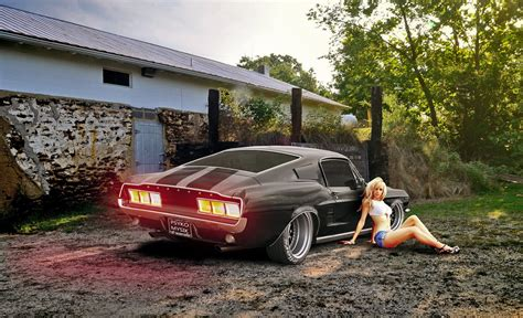 ford mustang fastback muscle classic hot rod rods