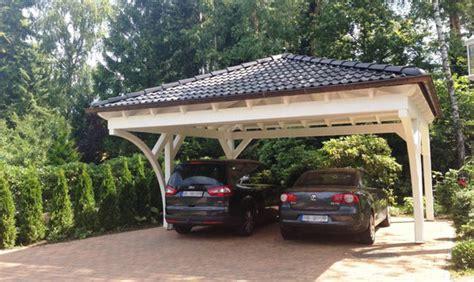 Walmdach Carport Online Planen Solarterrassen