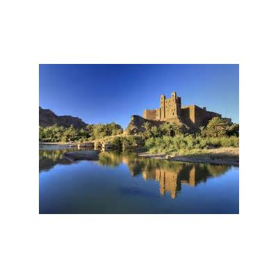 Morocco Draa Valley Ait Hamou Ou Said Kasbah Photographic Print by Michele Falzone at