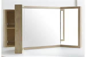 Armoire De Toilette Chene Blanchi by Armoire De Toilette Tryptique En Ch 234 Ne La Galerie Du Teck