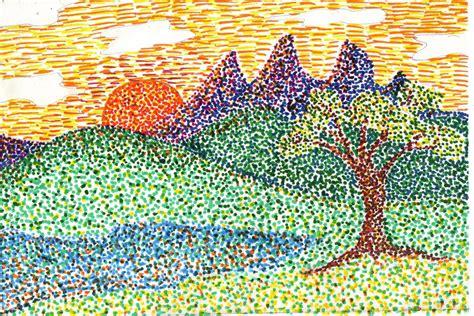 pointillismjpg image pointalism art homeschool art elementary art